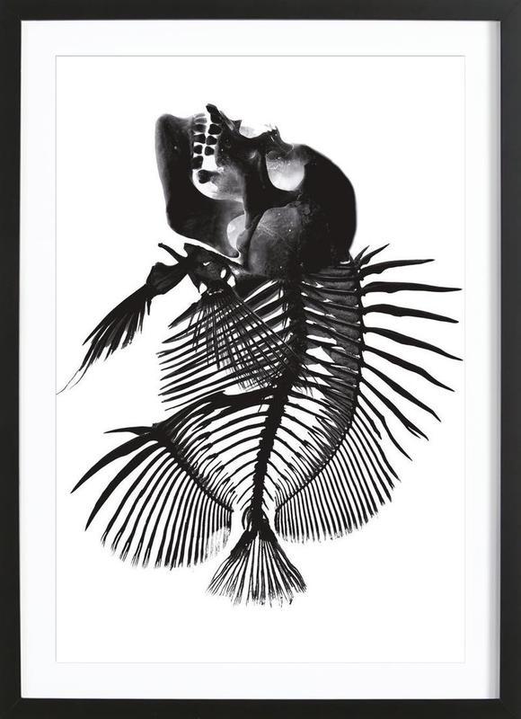Fishskull Framed Print