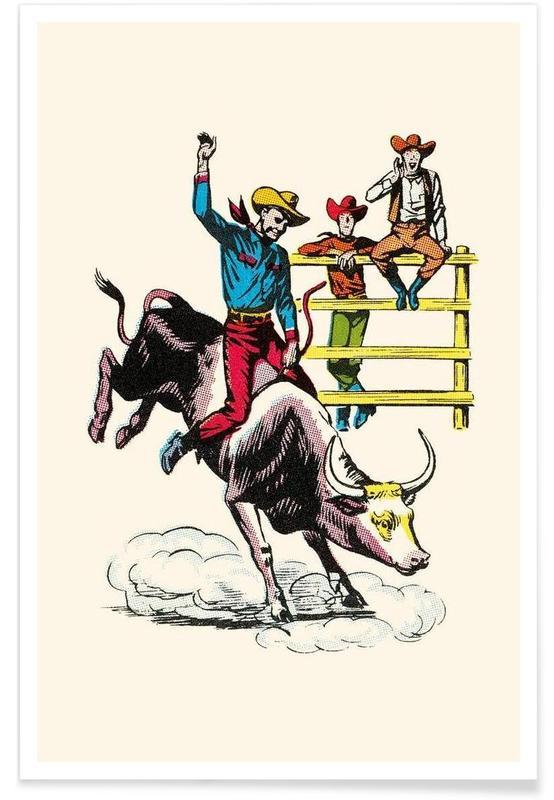 , Bull affiche