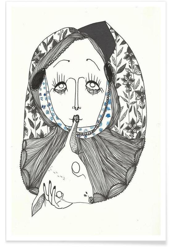 Portraits, Capra affiche