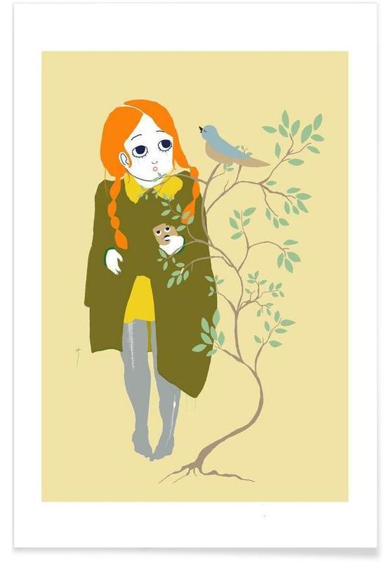 , Bird I Poster