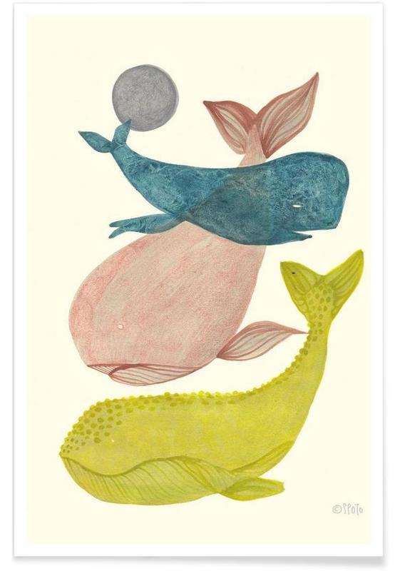 Walvissen, It´s Raining Whales II poster