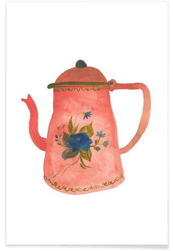 , Tea Pot affiche