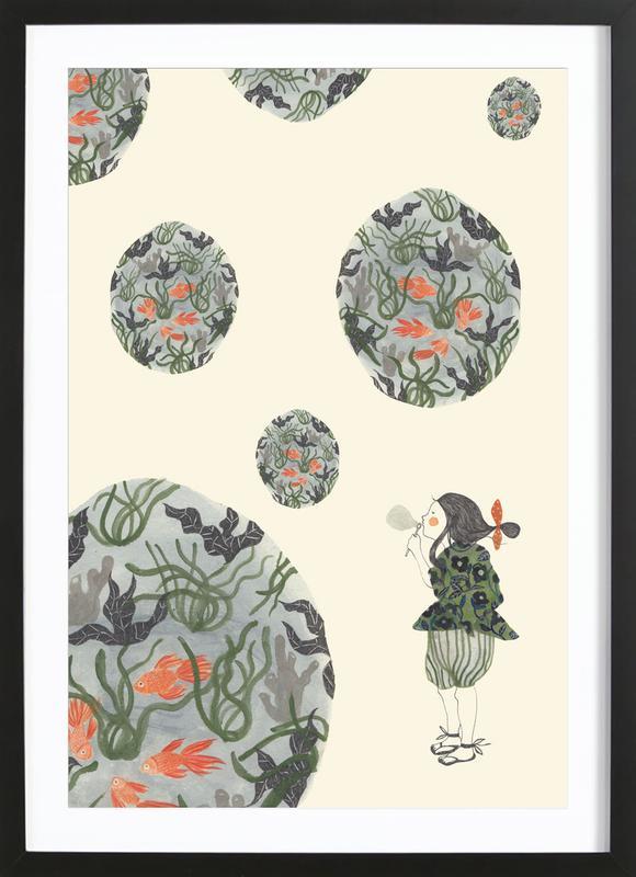 Seifenblasen Framed Print