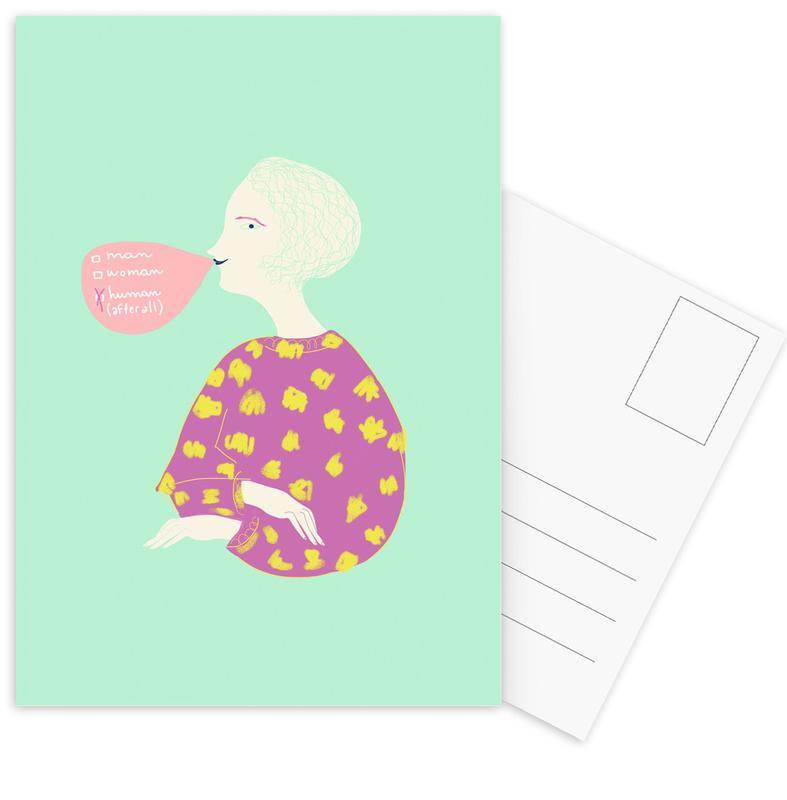 Human After All -Postkartenset
