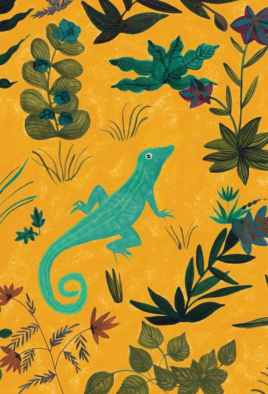 Lizard Aluminium Print
