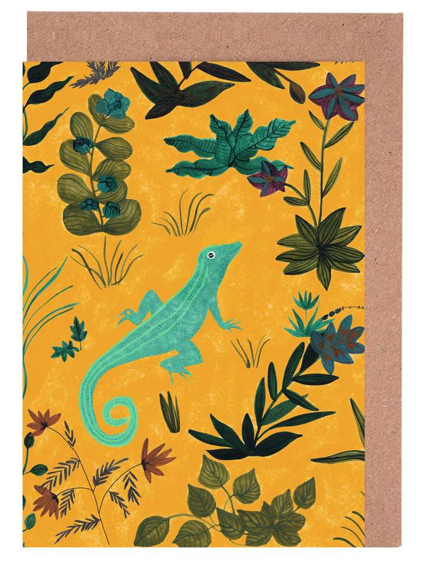 Lizard Greeting Card Set