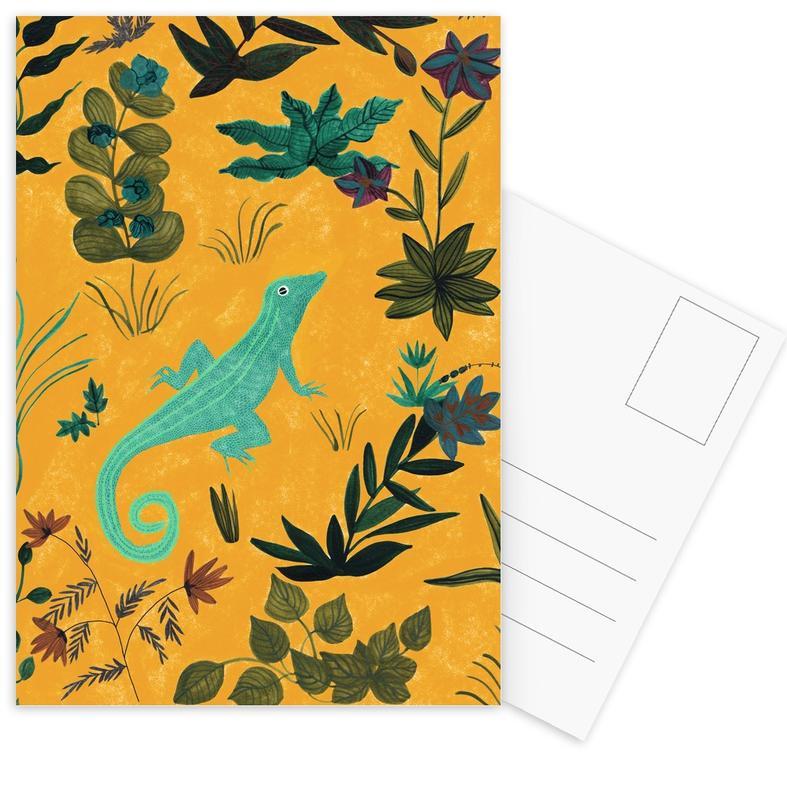 Lizard Postcard Set