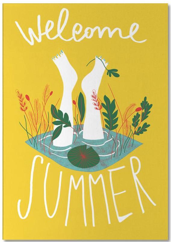 Welcome Summer -Notizblock