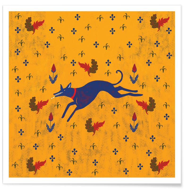 Loups, Run affiche