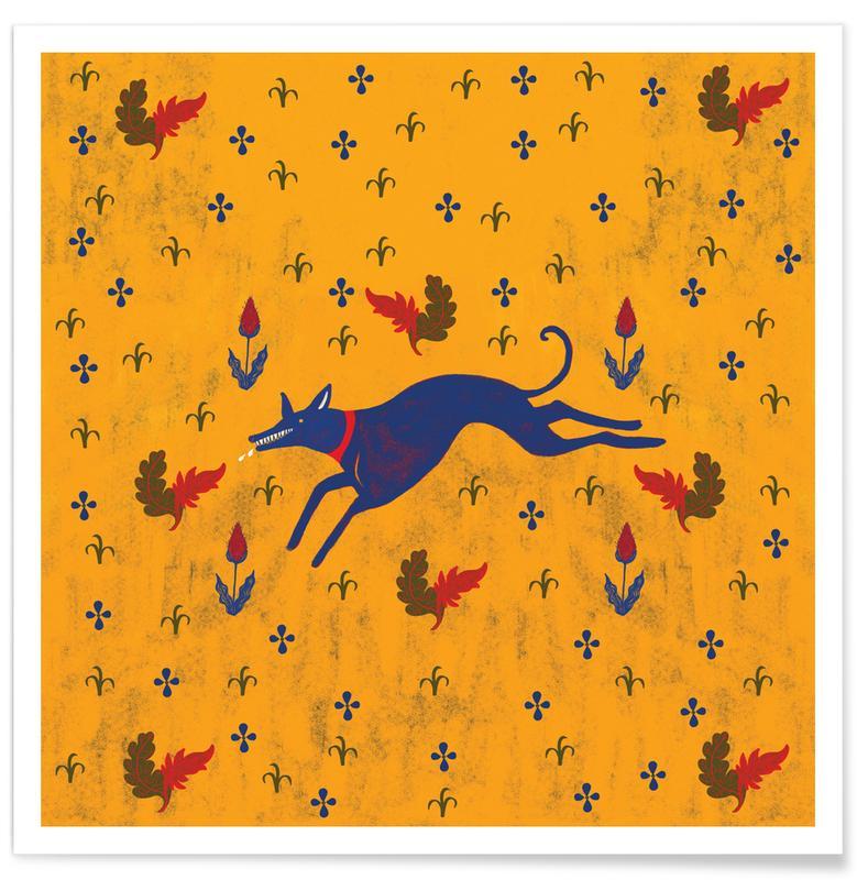 Wolves, Run Poster