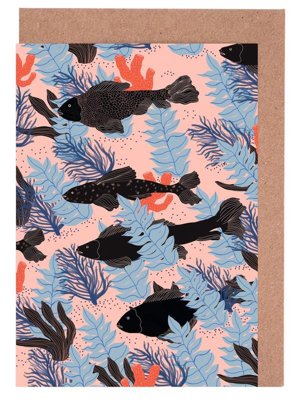 Fishes cartes de vœux