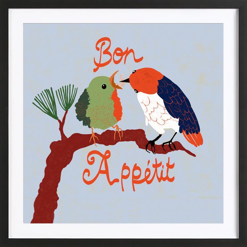 Bon Appétit ingelijste print