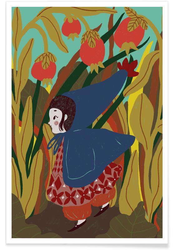 Nursery & Art for Kids, Dreamy, Thumbelina Poster