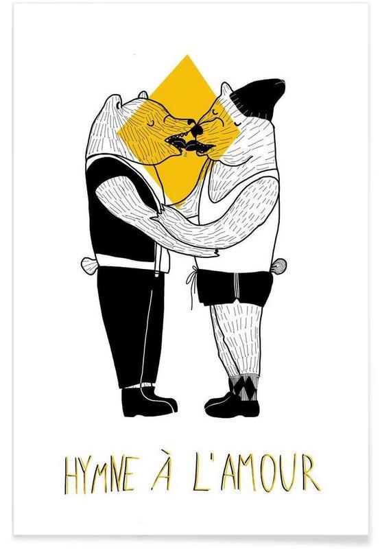 Ours, Couples, Hymne à l'amour affiche