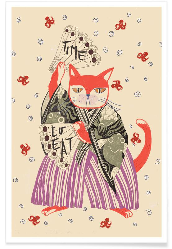 Cats, Time To Eat Poster