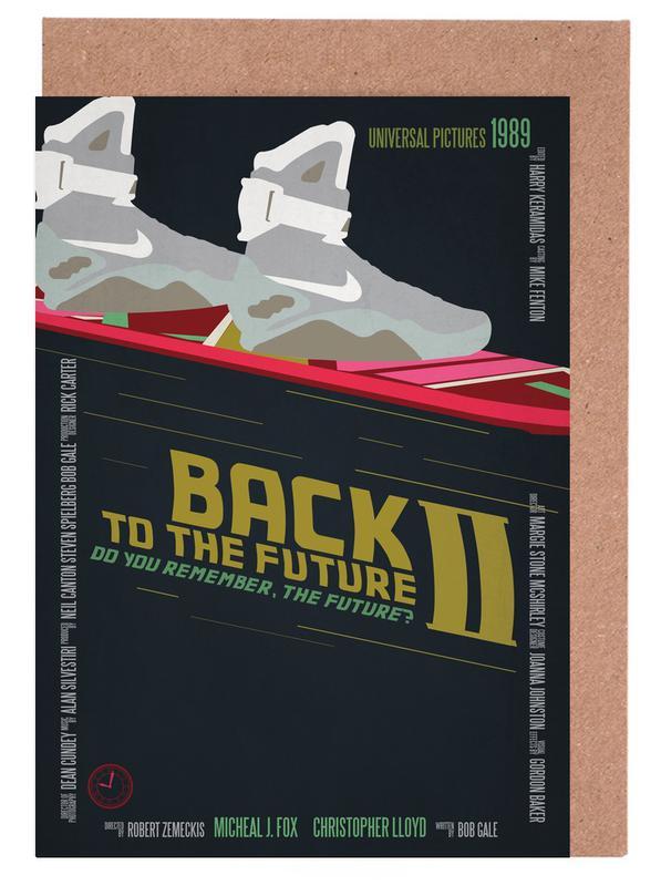 Filme, Back To The Future -Grußkarten-Set