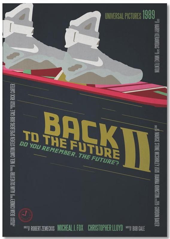 Filme, Back To The Future -Notizblock
