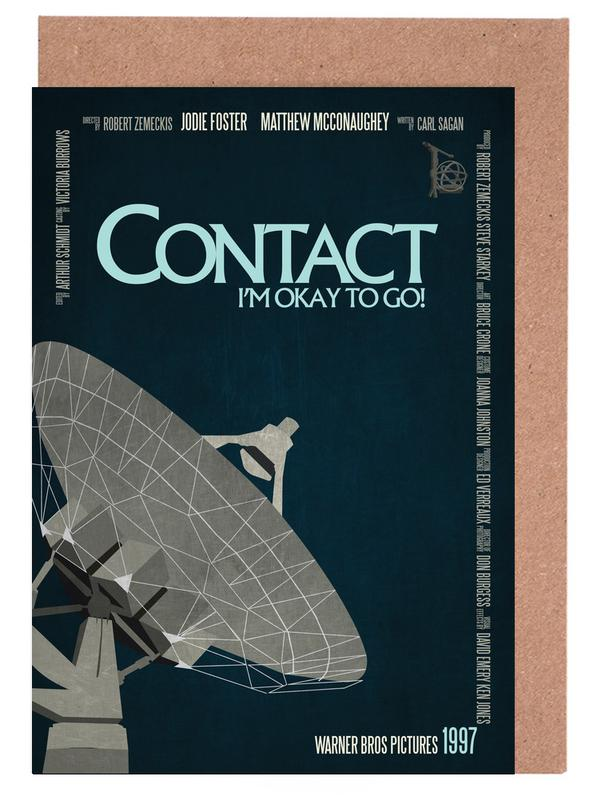 Filme, Contact -Grußkarten-Set