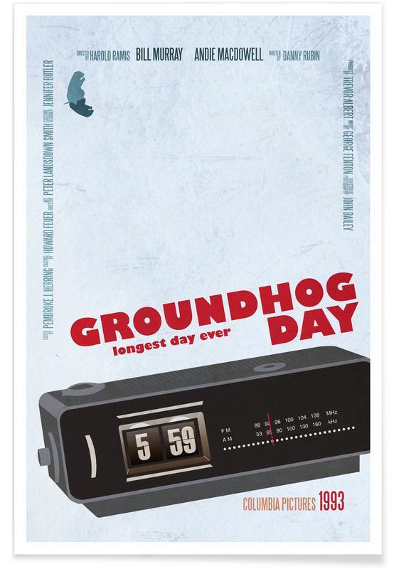 Filme, Groundhog Day -Poster