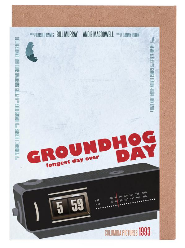 Filme, Groundhog Day -Grußkarten-Set