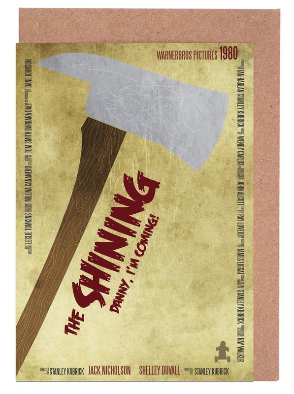 Filme, The Shining -Grußkarten-Set