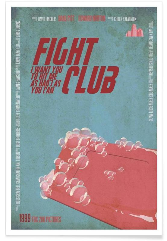 Films, I want you to hit me as hard as you can affiche