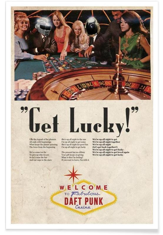 Daft Punk, Get Lucky ! Daft Punk affiche