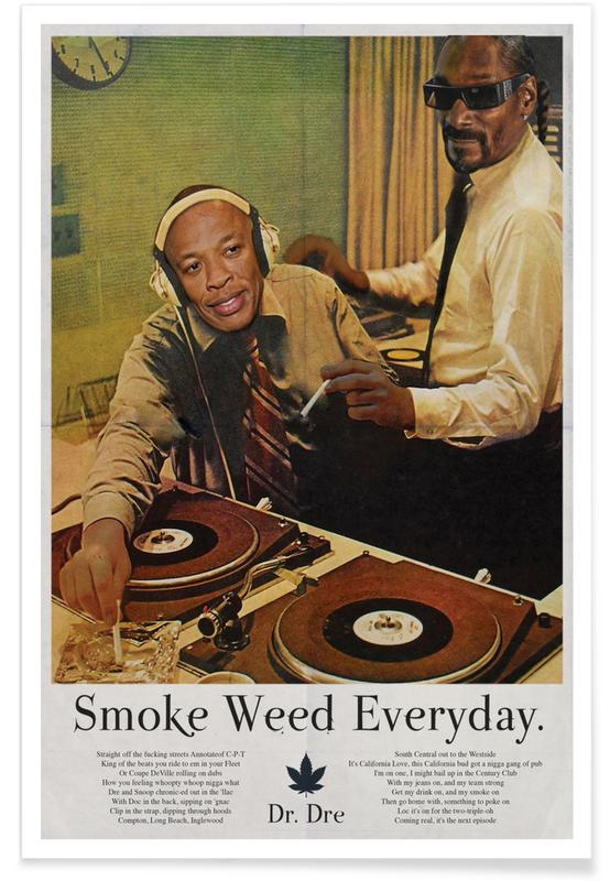 Hip-Hop & Rap, Smoke Weed Every Day Snoop Dogg affiche