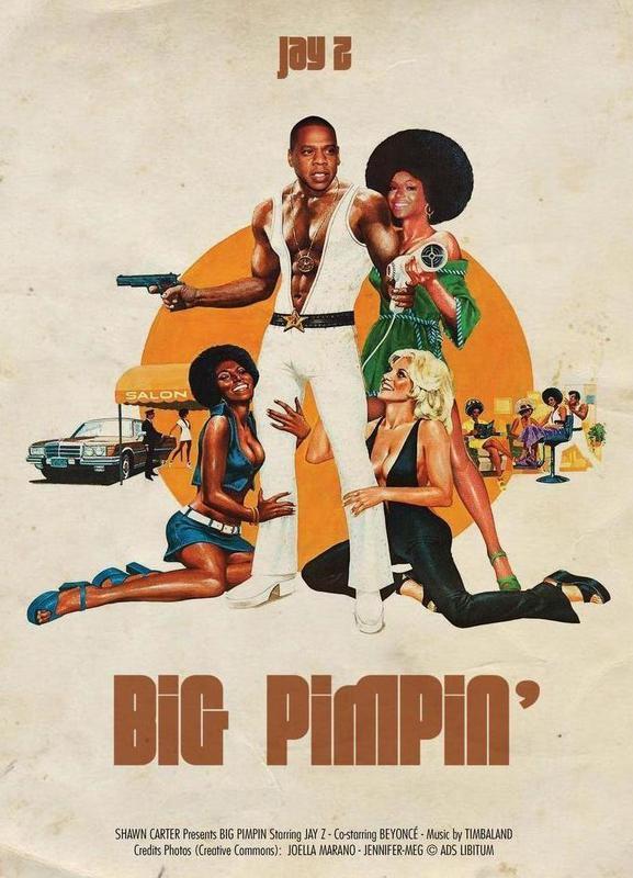 Big Pimpin -Leinwandbild