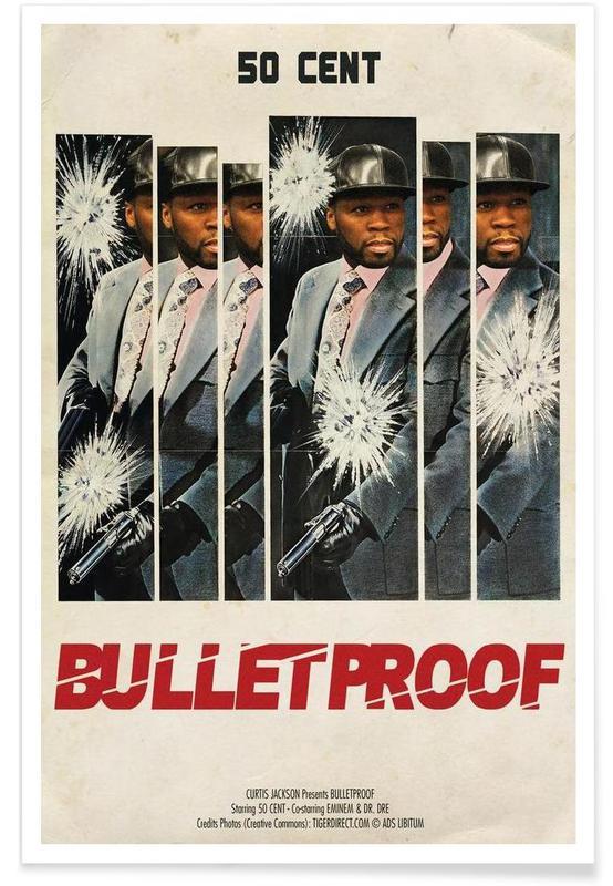 Hip Hop & Rap, Bullet Proof Plakat