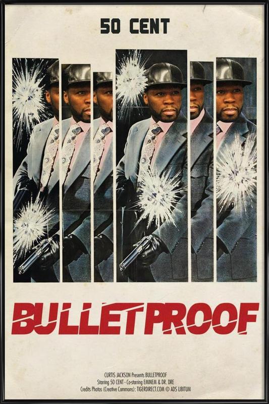 Bullet Proof Framed Poster