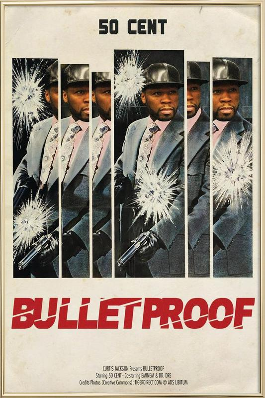 Bullet Proof Poster in Aluminium Frame