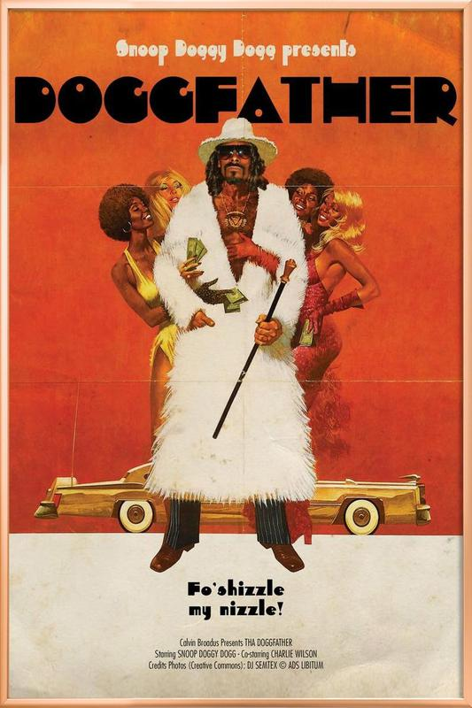 Dogg Father -Poster im Alurahmen