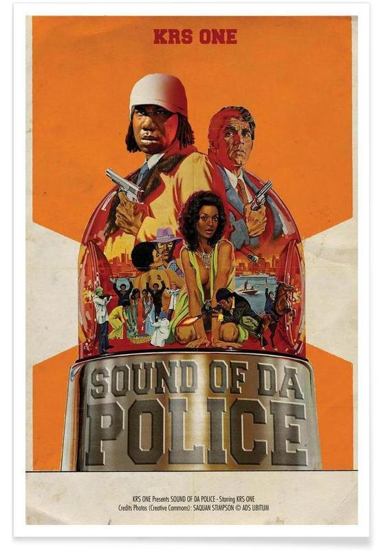 Hip Hop & Rap, Krs Plakat
