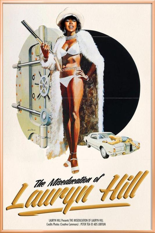 Miseducation -Poster im Alurahmen