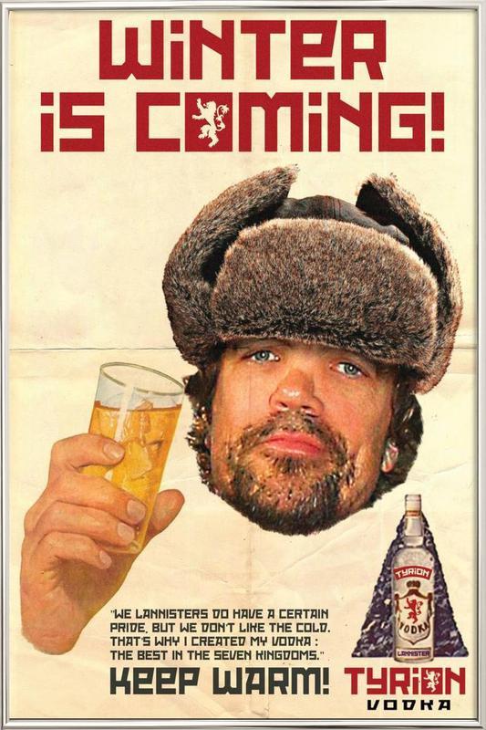 Tyrion Poster in Aluminium Frame