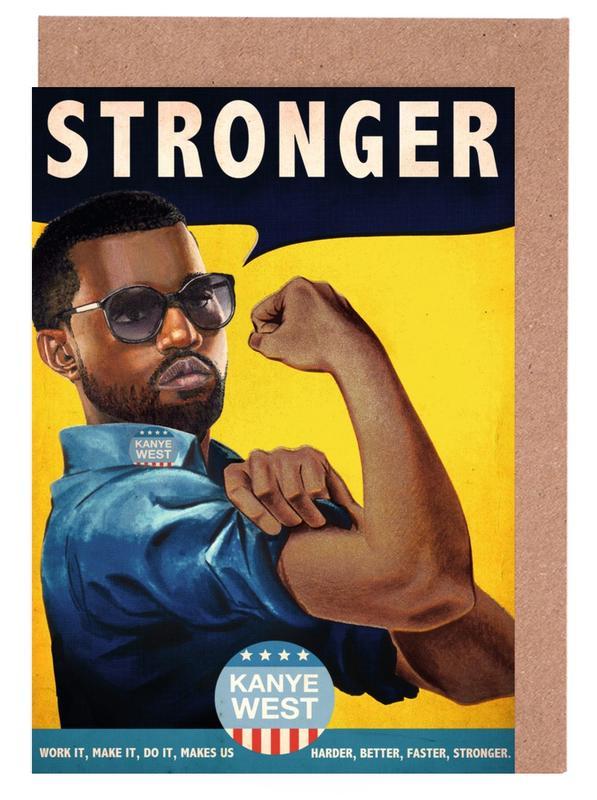 Stronger #2 -Grußkarten-Set