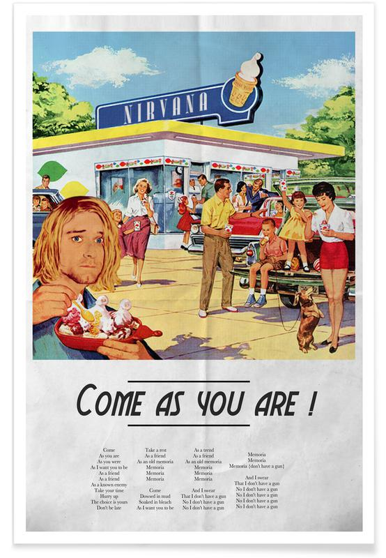 Retro, Come As You Are Poster