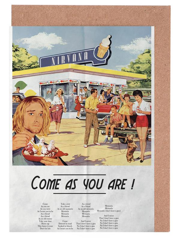 Come As You Are Greeting Card Set