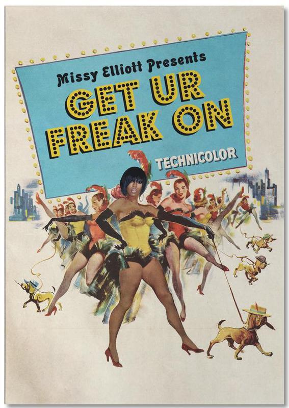 Vintage, Pop Art, Hip-Hop & Rap, Get Ur Freak On bloc-notes