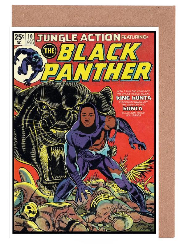 Black Panther -Grußkarten-Set