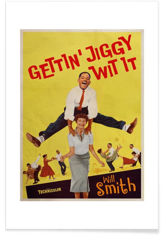 Vintage, Pop Art, Jiggy Poster