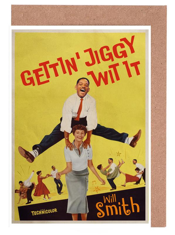 Vintage, Pop Art, Jiggy cartes de vœux