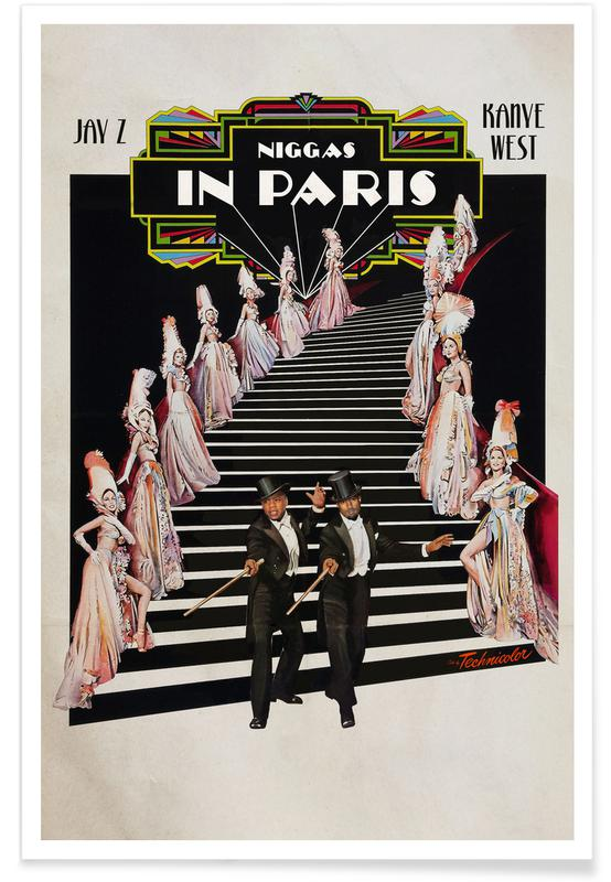 Niggas in Paris -Poster