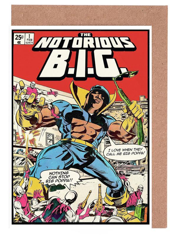 The Notorious B.I.G -Grußkarten-Set