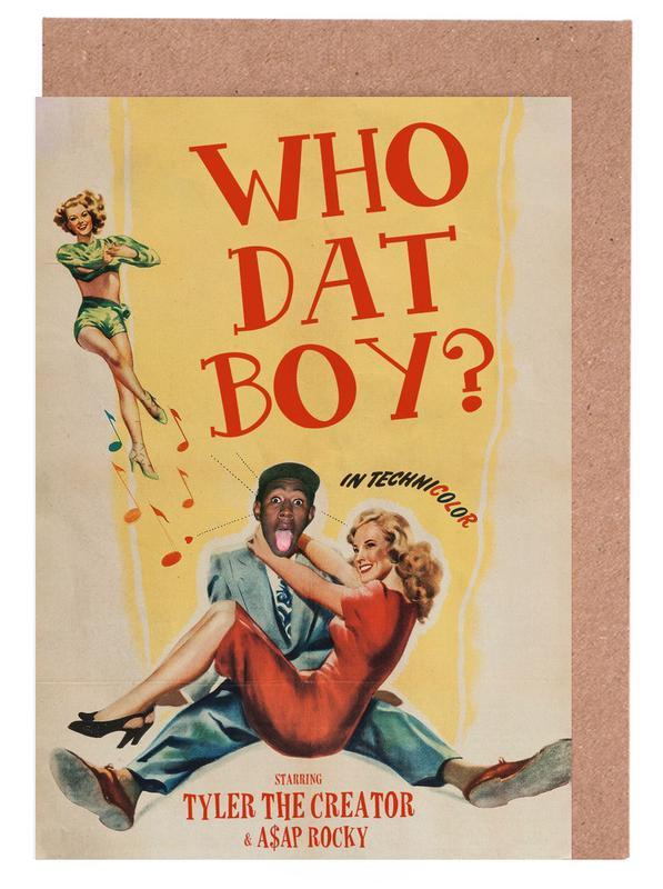 Who Dat Boy -Grußkarten-Set