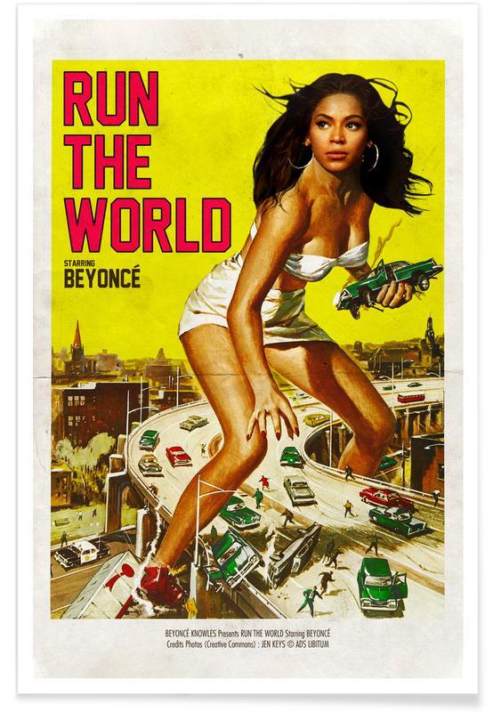 Beyonce, Run the World affiche