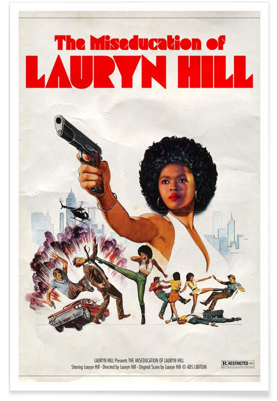 Filme, Pop Art, Miseducated -Poster