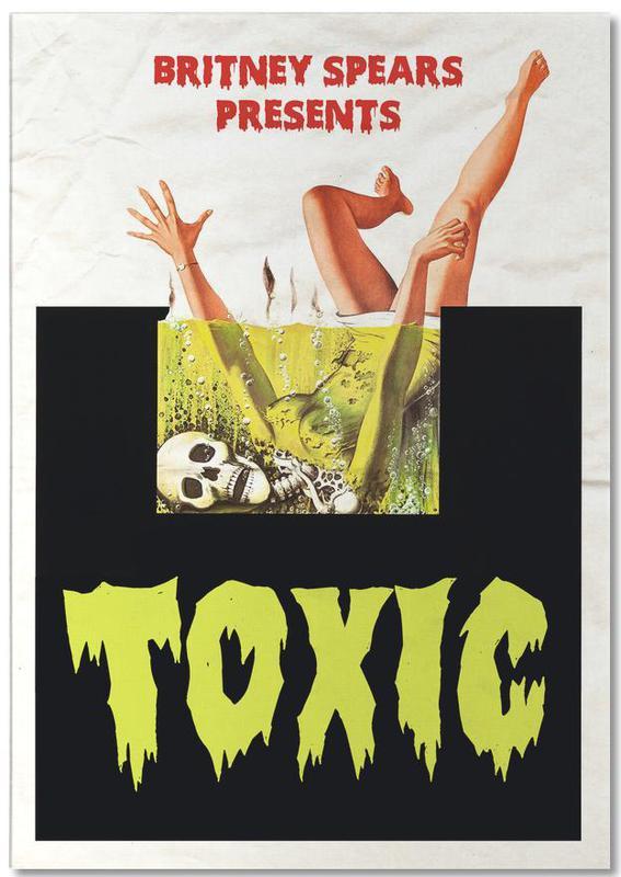 Films, Pop Art, Toxic bloc-notes