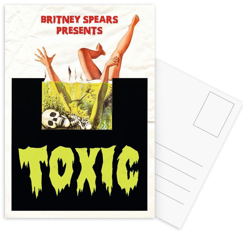 Popart, Films, Toxic ansichtkaartenset